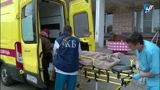 Смотреть видео Пациента детской областной больницы отправили в Санкт-Петербург в Педиатрическую академию онлайн