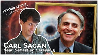 Portrait - Carl Sagan (feat. Sébastien Carassou) - Le Point Genius