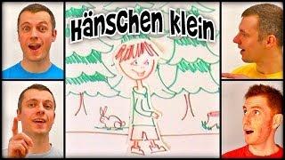 Gambar cover Hänschen klein ging allein (A Cappella) - German children's folk song - Kinderlied / Volkslied