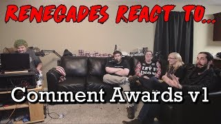 Renegades React to... Comment Awards v1