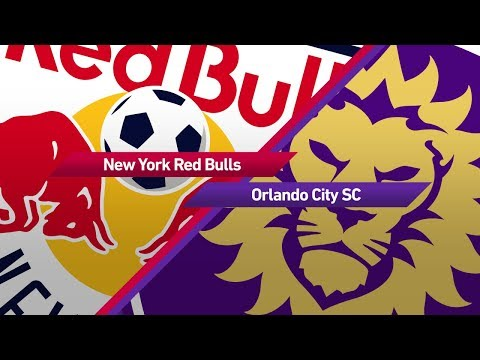 Highlights: New York Red Bulls vs. Orlando City SC | August 12, 2017