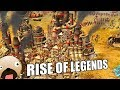 STEAMPUNK ARABIAN NIGHTS AZTEC FANTASY REAL TIME STRATEGY - Rise of Legends Gameplay