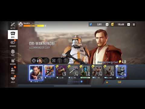 Star Wars: Force Arena - Obi Wan the Slow Tank