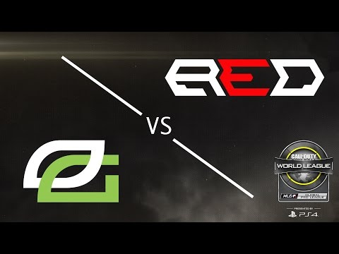 OpTic Gaming vs Red Reserve - CWL Global Pro League - Group Green - Day 1