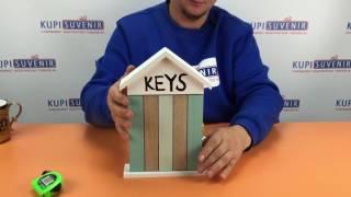 Видеообзор ключницы «Домик для ключей»