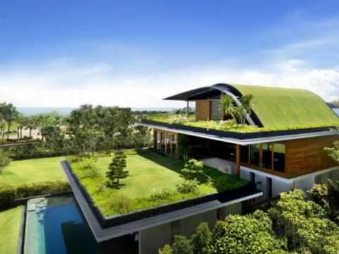 Meera House - Amazing House Design Ideas With Sky Garden - YouTube