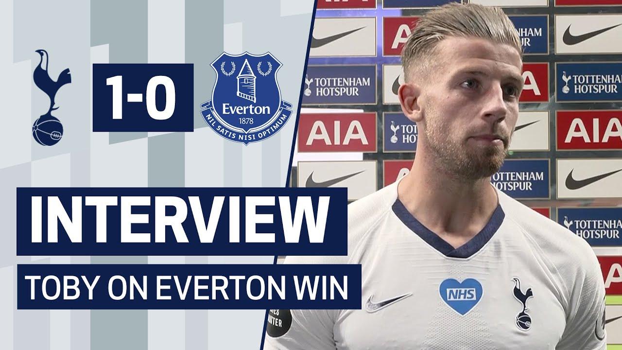 INTERVIEW | Toby Alderweireld on Everton Win