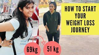 How to Start Your Weight Loss Journey ?|  Weight loss Motivation | Somya Luhadia