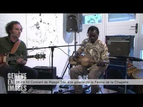 Concert de Raaga Trio à la galerie de la Ferme de la Chapelle