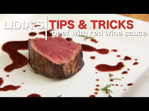 Beef with Red Wine Sauce Recipe