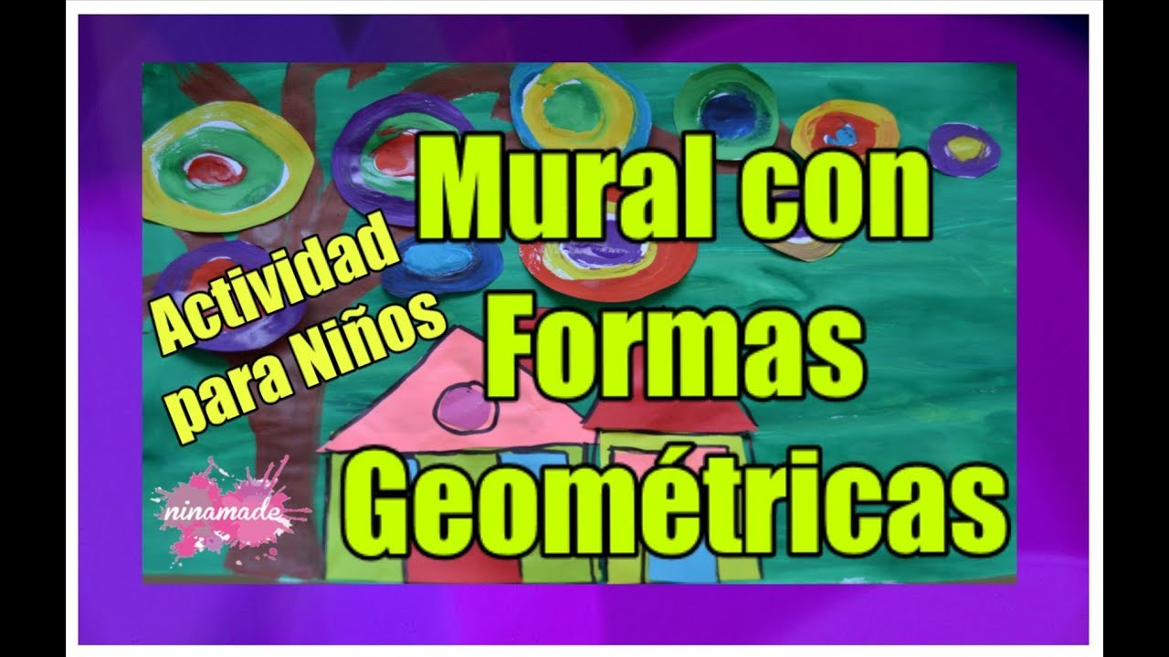 Diy Arte Con Formas Geometricas Para Ninos Art With Geometric