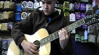 hagstrom sigra 12 acoustic 12 string demo