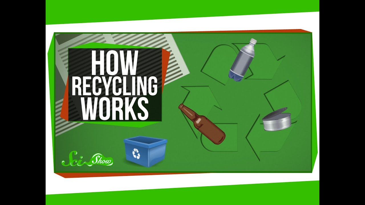 How Recycling Works Youtube: what is trash compactor and how does it work