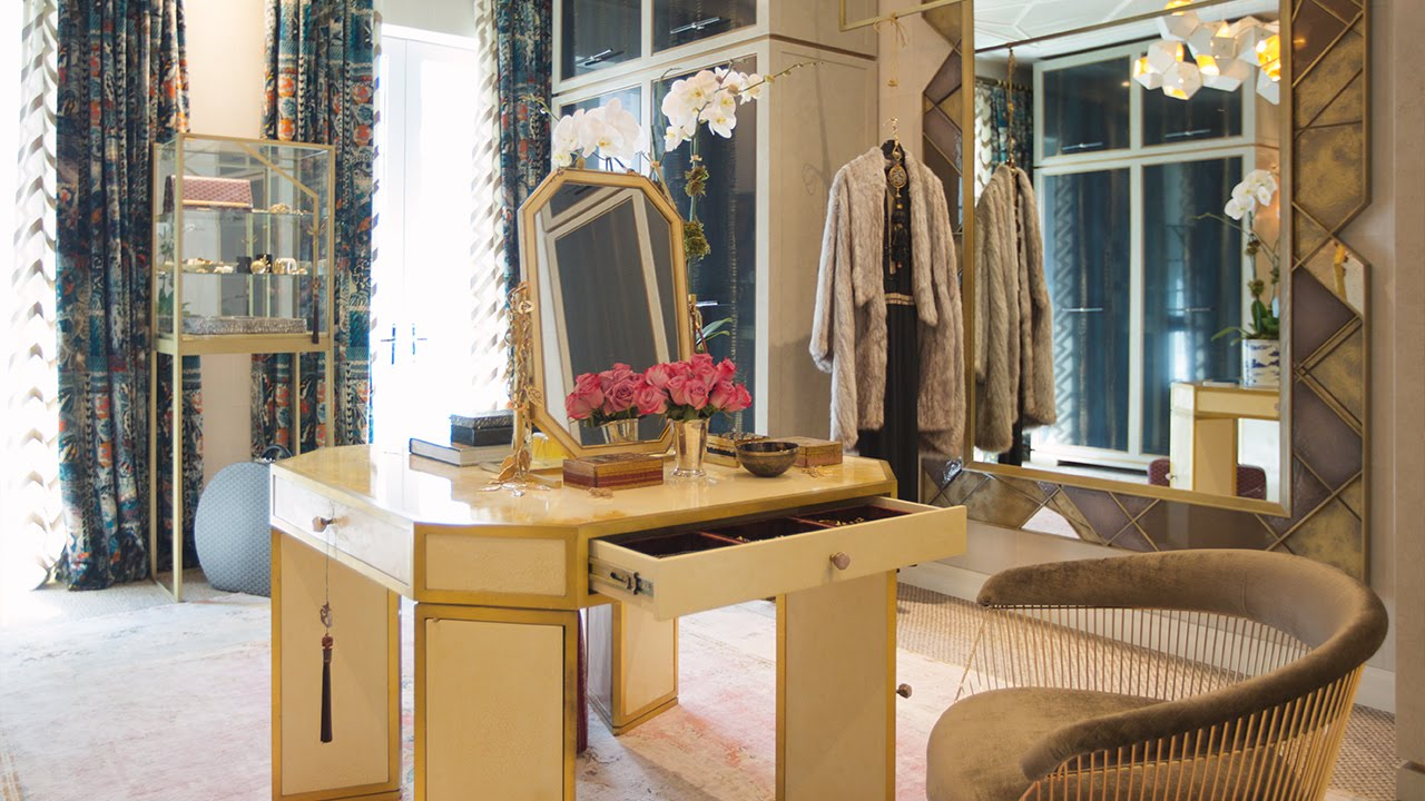 Interior Design Tour A Dreamy WalkIn Closet In NYC YouTube