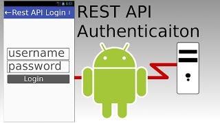 Android Studio - REST API Basic Authentication