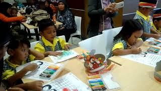 Lomba Mewarnai di KFC PP TB Simatupang