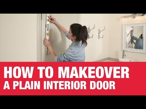 How To Paint A Plain Interior Door Ace Hardware Youtube