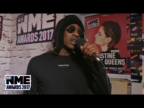 Skepta on festival season, Stormzy and Sadiq Khan at the VO5 NME Awards 2017