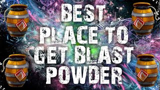 BEST PLACE TO GET BLAST POWDER FORTNITE SAVE THE WORLD