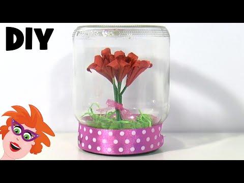 Diy Zelf Pot Met Bloemen Maken Voor Moederdag Youtube