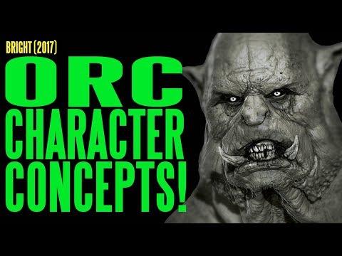 BRIGHT Orc Character Concepts ADI