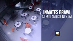 Inmates brawl at Midland County Jail