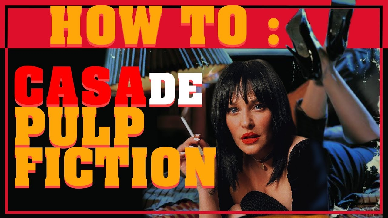 Casa de Pulp Fiction/Απόκριες | SissyChristidou