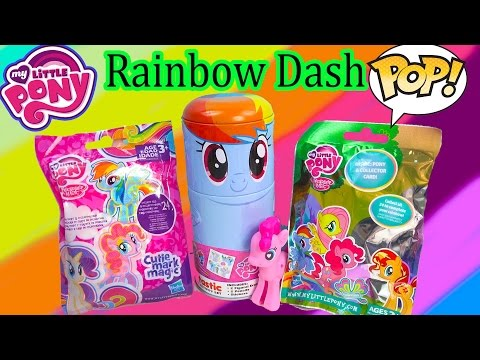 MLP My Little Pony Rainbow Dash Tin-Tastic Funko Pop Vinyl Blind Bags Figures Happy Cookieswirlc