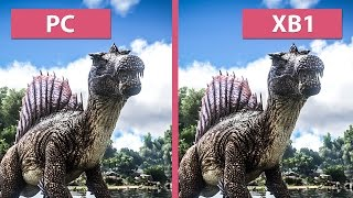 Ark: Survival Evolved – PC vs. Xbox One Graphics Comparison(GameStar PCs | Gaming PCs & Notebooks: http://www.one.de/shop/index.php We compare the graphics of ARK: Survival Evolved on PC and Xbox One – the ..., 2015-12-17T13:05:58.000Z)