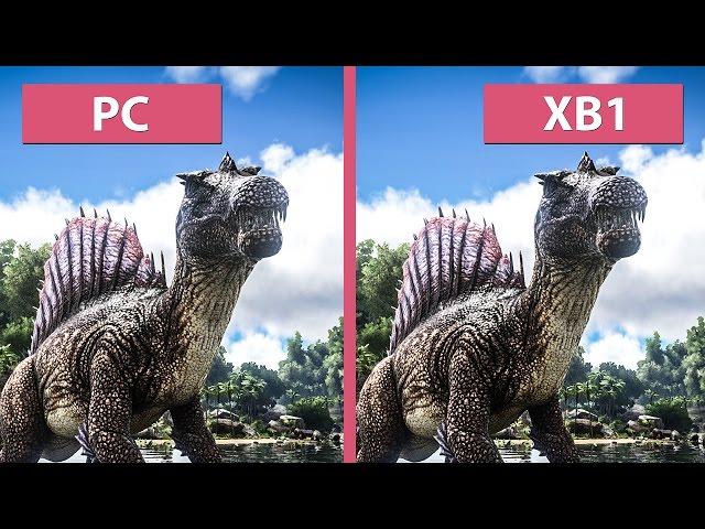 Ark Survival Evolved PC vs Xbox One Comparison