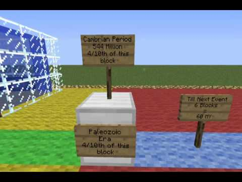 Geological Timescale: Minecraft Version