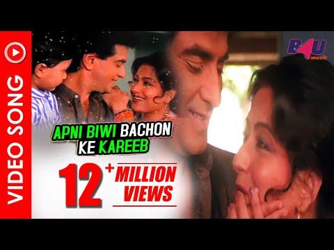 Apni Biwi Bachon Ke Kareeb | Taqdeer Ka Tamasha | Jitendra, Govinda , Aditya Pancholi | B4U Music