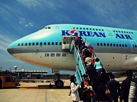 Korean Air B747 Flight: KE1218 Jeju to Seoul (Gimpo)