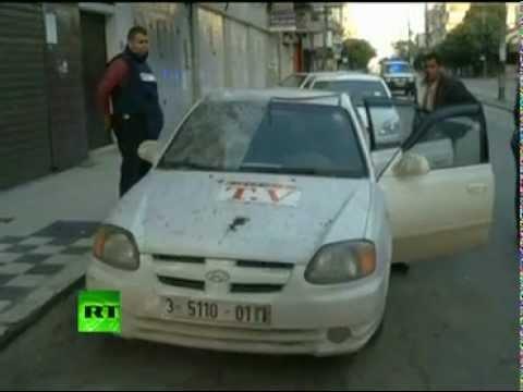 Bombing press  Israeli strike on Gaza media center!