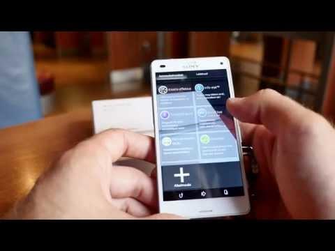 Sony Xperia Z3 Compact bemutató videó