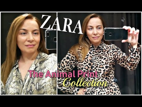 ZARA ANIMAL PRINT COLLECTION AUTUMN 2018// ANIMAL PRINT DRESS LOOKBOOK