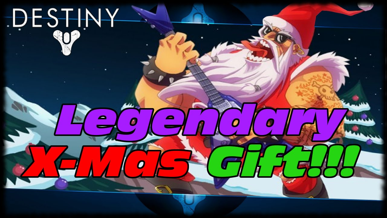 Destiny Legendary Holiday X-Mas Postmaster Package Gift! Live ...