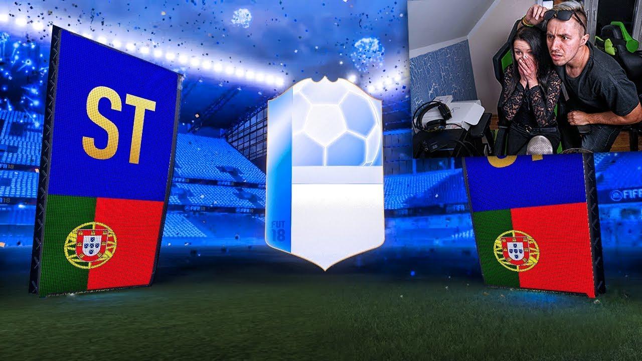 MOJA DZIEWCZYNA TRAFIA 5x TOTGS Z RZĘDU! FIFA 18 / DEV