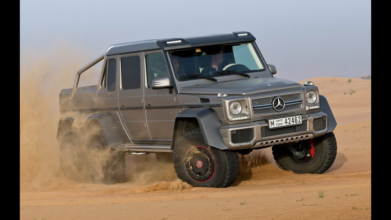 2014 mercedes benz g 63 amg 6x6 test drive youtube for Mercedes benz g63 6x6 amg