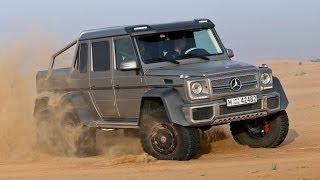 2014 Mercedes-benz G 63 Amg 6x6: Test Drive