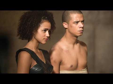 game of thrones s7e2 missandei and grey worm romantic scene youtube. Black Bedroom Furniture Sets. Home Design Ideas