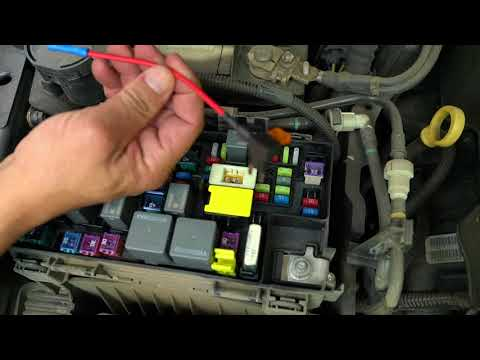 how to wire drl and halos to acc in fuse box for jeep wrangler jk Jeep YJ Horn Fuse Location