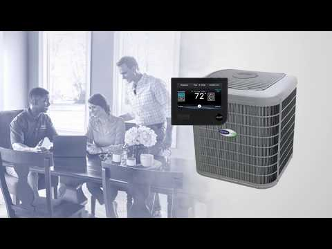 Carrier Infinity 26 Seer Air Conditioner Youtube