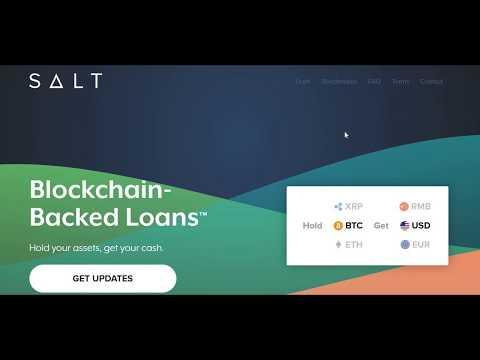 SALT Lending Token Platform Review and Membership Explanation
