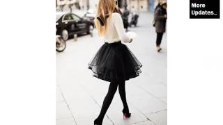 Black Tulle Skirts | Dress Picture Ideas For Women - Tutu Dress Romance