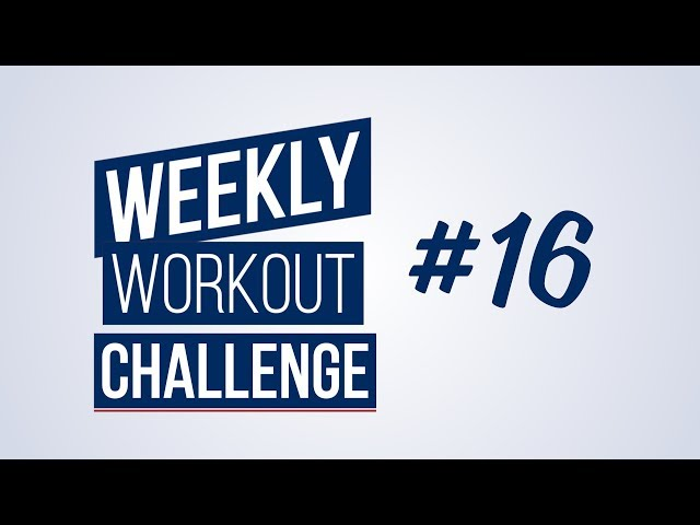 Weekly Workout Challenge #16 | Renaud Center