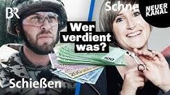 Ausgepackt: Macht die Bundeswehr reich? Was verdient eine Friseurin? | Beruf | Lohnt sich das? | BR
