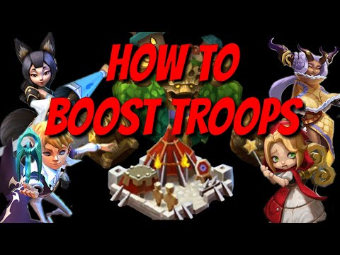 How To Boost Troops - Lords Mobile