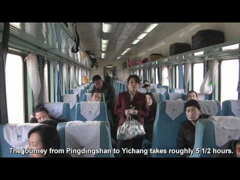 Train ride from Pingdingshan to Yichang - China