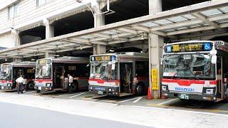 スイッチバック式バスターミナル 東急綱島駅のバスターミナルを見てきた